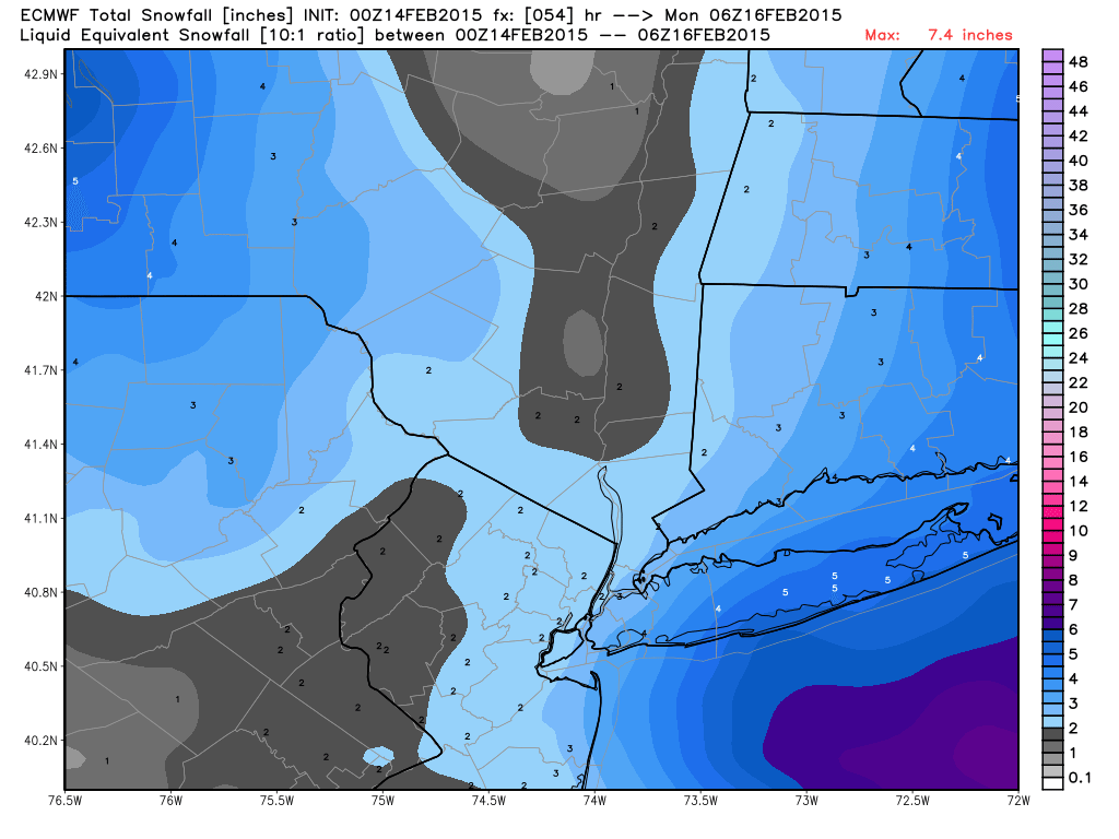 Update #3: Final Call Snow Map, Flip A Coin Type Of Forecast - Page 5 Ecmwf_tsnow_nyc_10