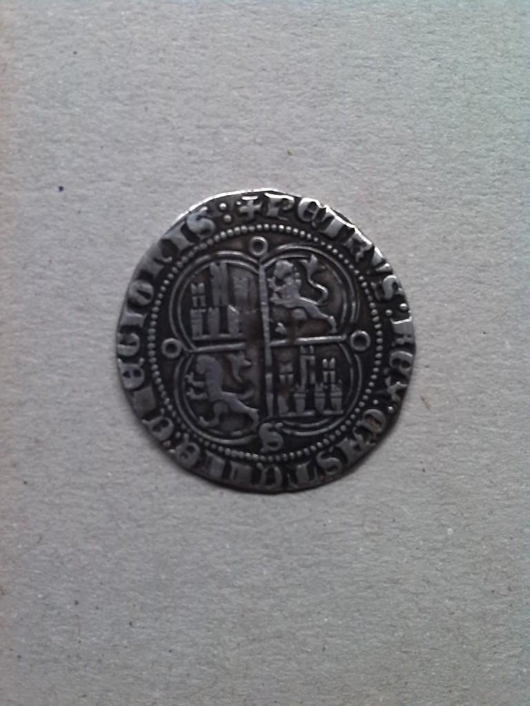 Real de Pedro I de Castilla 1350 - 1368 Sevilla. IMG_20150715_220009