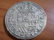 8 Reales 1660 Segovia , Felipe IV DSCN0734