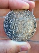 8 Reales 1821. Fernando VII. México JJ IMG_3583