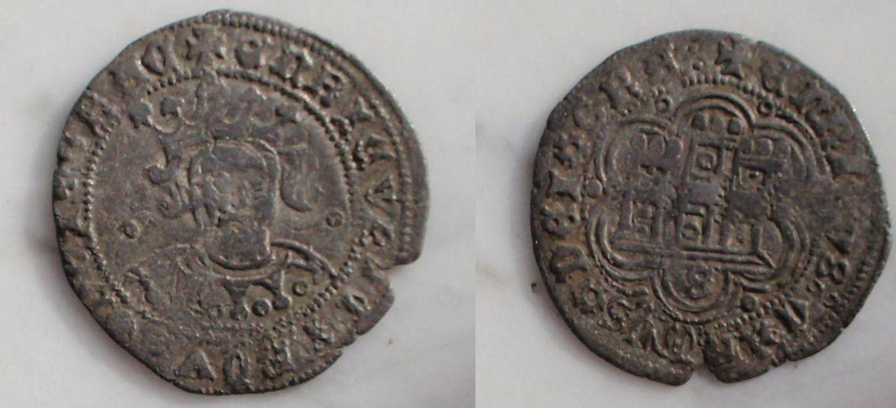 1/4 de real o cuartillo de Enrique IV. 0_0_0_cuarto_enrique_iv