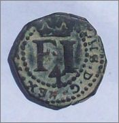4 cornados de Felipe III, Navarra. 1619. 102_2306