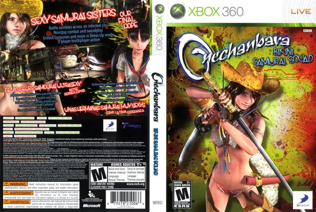 Haciendo justicia el Onechanbara: Bikini Samurai Squad y primeras impresiones Onechanbara_Xbox_360_Full_Cover