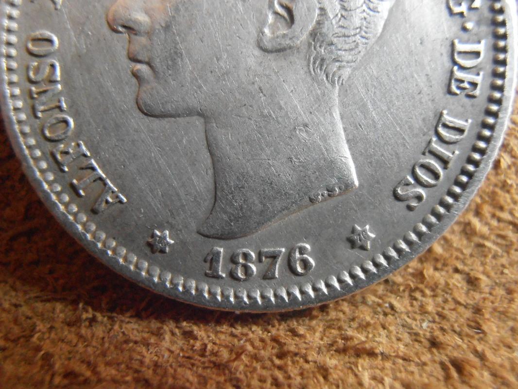 1 peseta 1876. Alfonso XII P3200020
