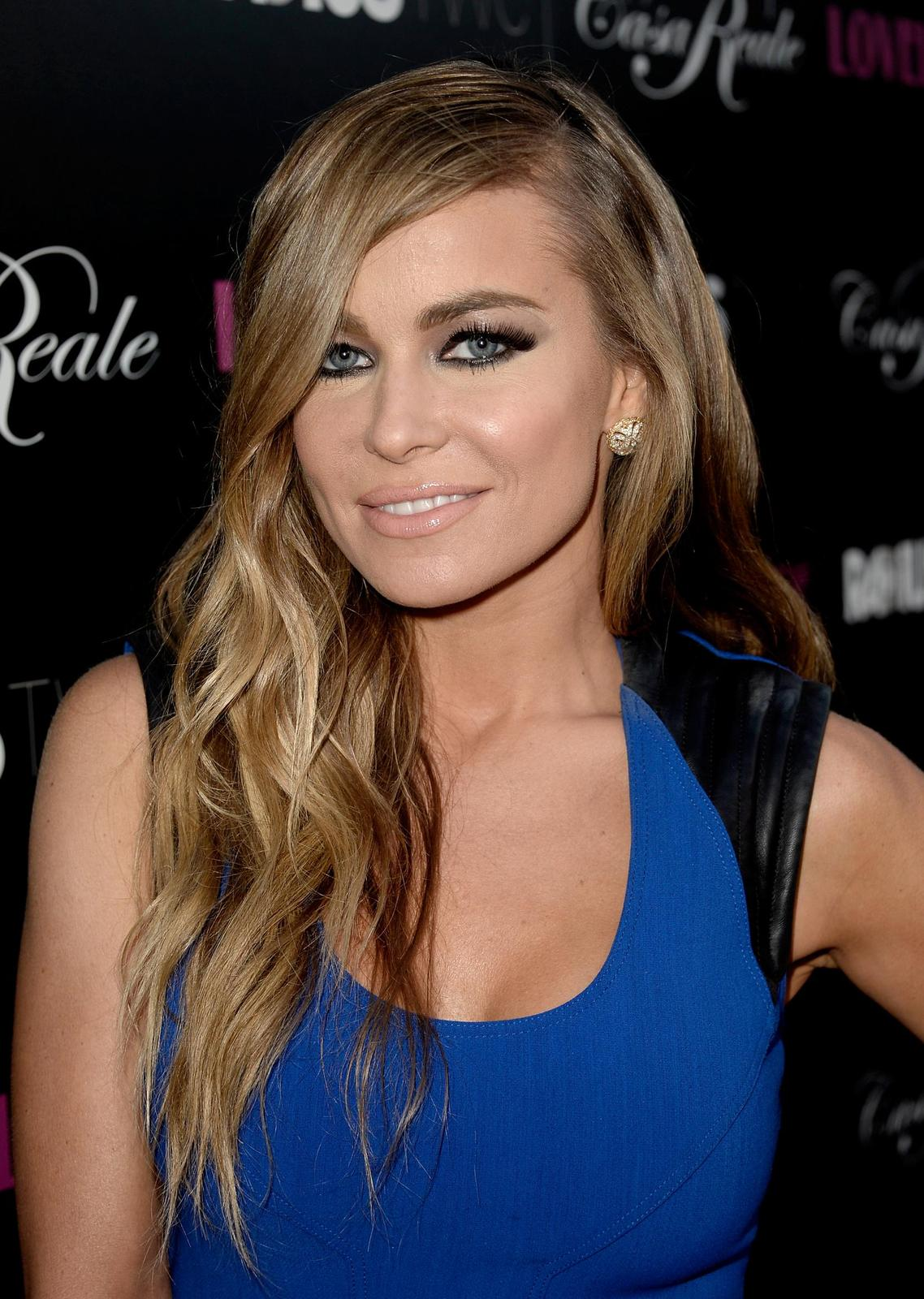 Carmen Electra in blue -Lovelace Premiere K7xv