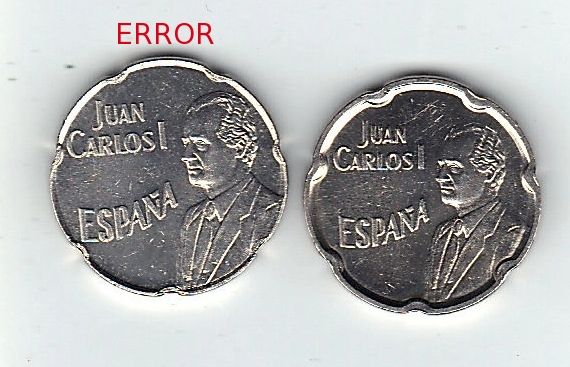 50 pesetas 1990.  Juan Carlos I - Error de pantografo 50_pesetas_error_de_Pant_grafo_1990_vendida