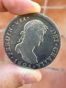 8 Reales 1821. Fernando VII. México JJ IMG_3582
