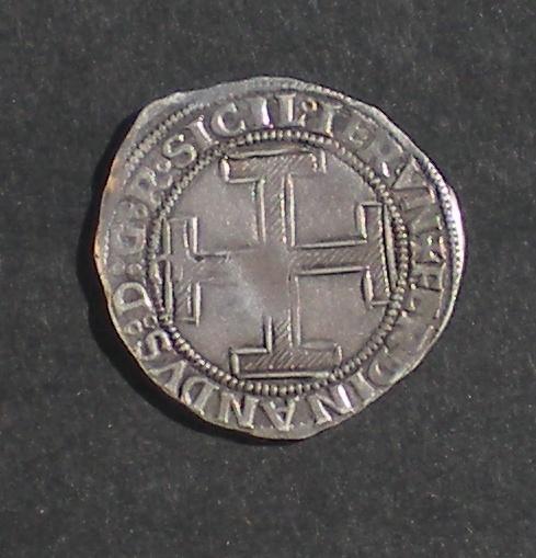Coronato de Fernando I (1458-1494) de Nápoles [marca 'C'] DSCN3817