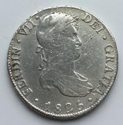 8 Reales 1825 Fernando VII Potosi Potosi1