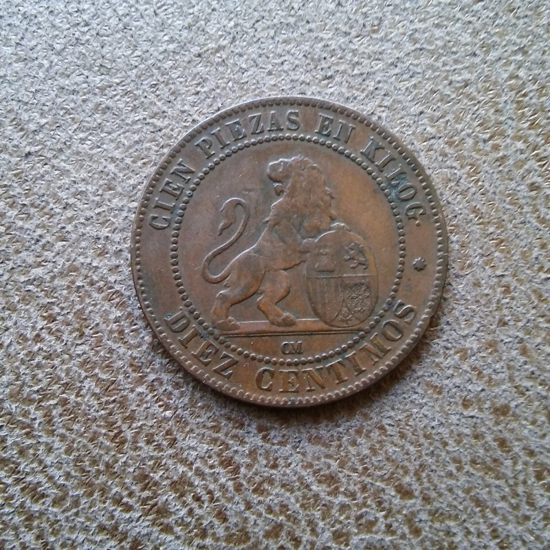 10 centimos de 1870 con una sola estrella 20170802_132442