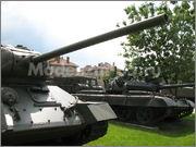 Советский средний танк Т-34-85, производства завода № 112,  Военно-исторический музей, София, Болгария 34_85_002