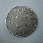 1 Lempira 1937 Republica de Honduras Image