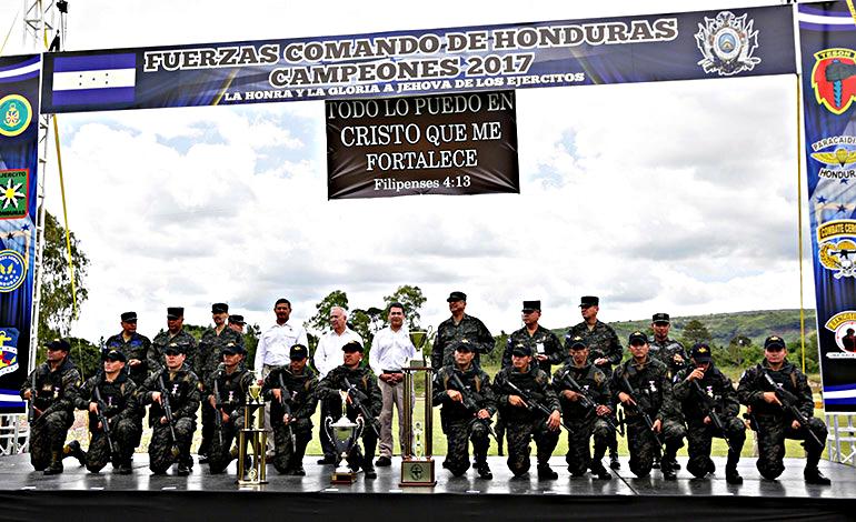 Fotos y videos de las FFAA de Honduras y equipos de los Bomberos EN-_PARAGUAY-1