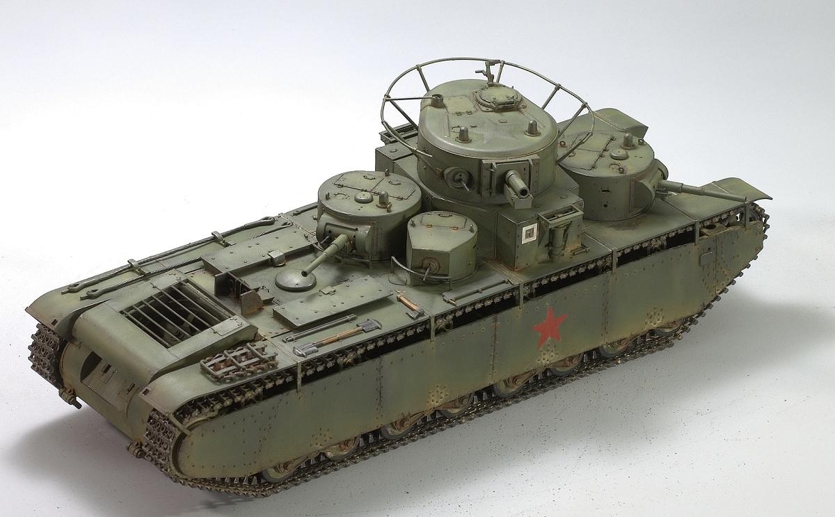 Т-35. Звезда 1/35 Image