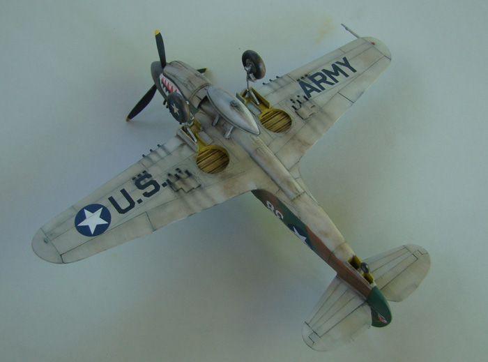 P-40E, Hobby Boss, 1/72 DSC03381