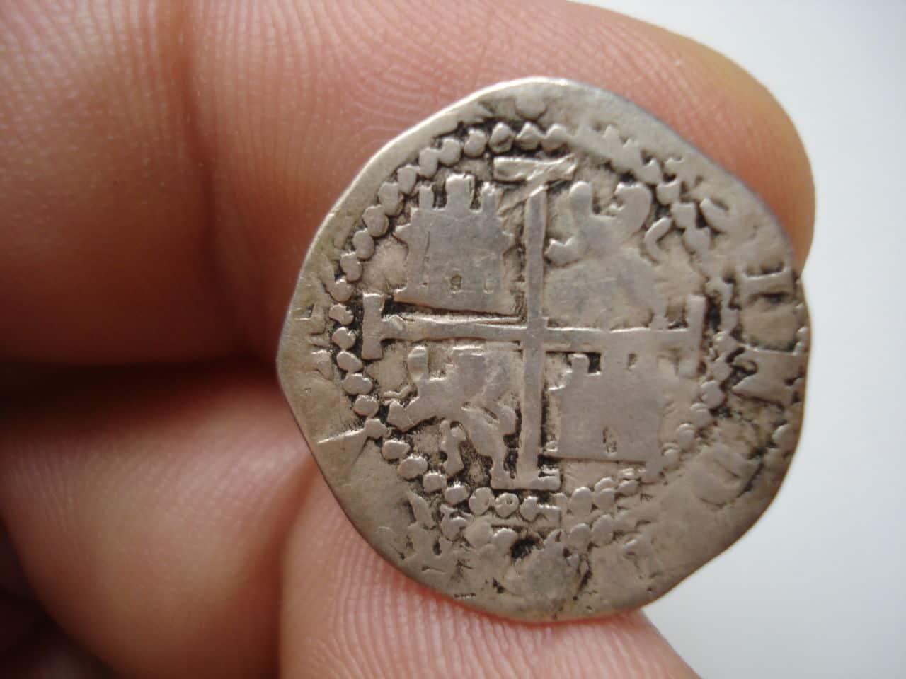 1/2 real Felipe II Potosí DSC03929