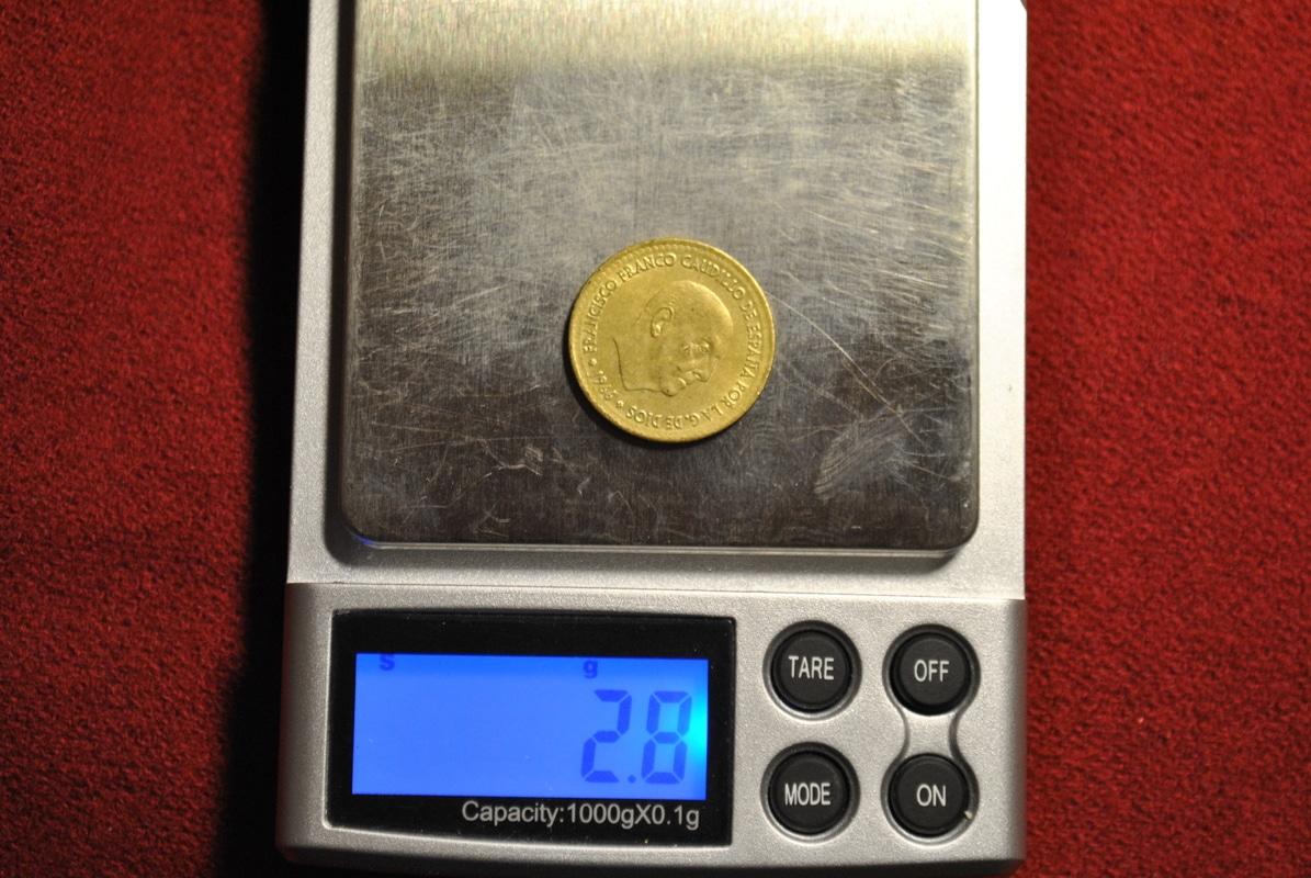 Peseta de Franco 1966 (69) con falta de peso DSC_7240
