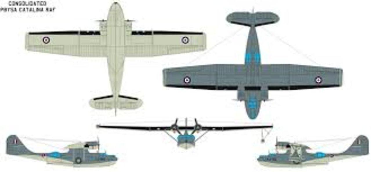 Aeronaves  del pasado de la SEMAR. Consolidated_pby_5_catalina_design