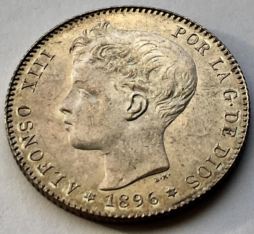 1 peseta 1896. Alfonso XIII. Keko dedit 01_C38318-_BCEE-438_B-_BF69-56_AC151805_FD