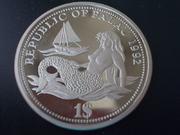 1 Dólar de la República de Palau, 1.992 DSCN1600