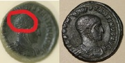 AE3 de Constantino I el Grande. VICTORIAE LAETAE PRINC PERP Reverso_2_caras