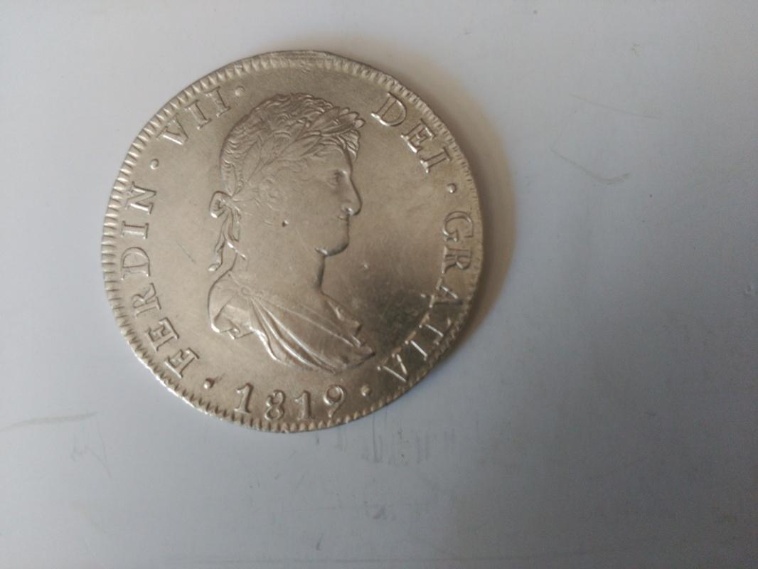 8 reales de Fernando VII de México Image