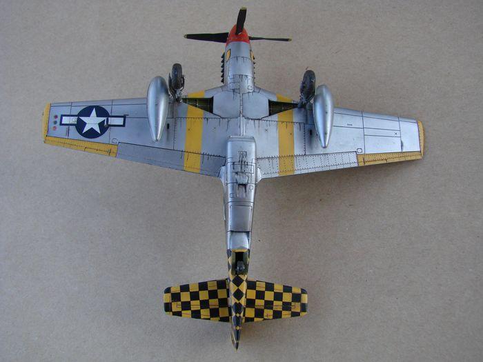 Mustang x2 P-51B Revell & P-51D Tamiya, 1/72 DSC09785
