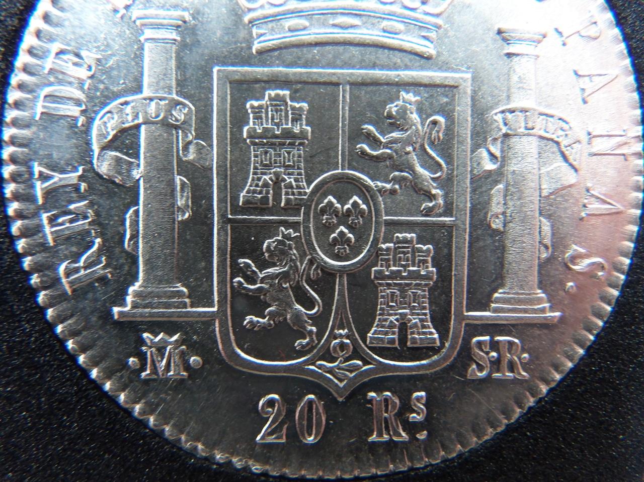 20 Reales 1823 Madrid PC031408
