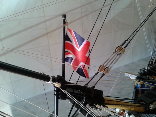 royal - I miei lavori terminati: Corazzata Bismarck, Soleil Royal, Victory. 20130909_170623