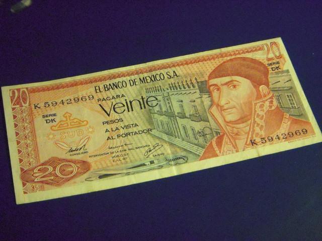 20 Pesos Mexico, 1977 DSCN7799