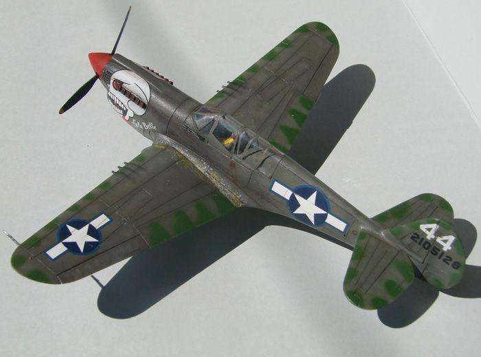 P-40N(rebuild), Hasegawa, 1/72 DSC03743