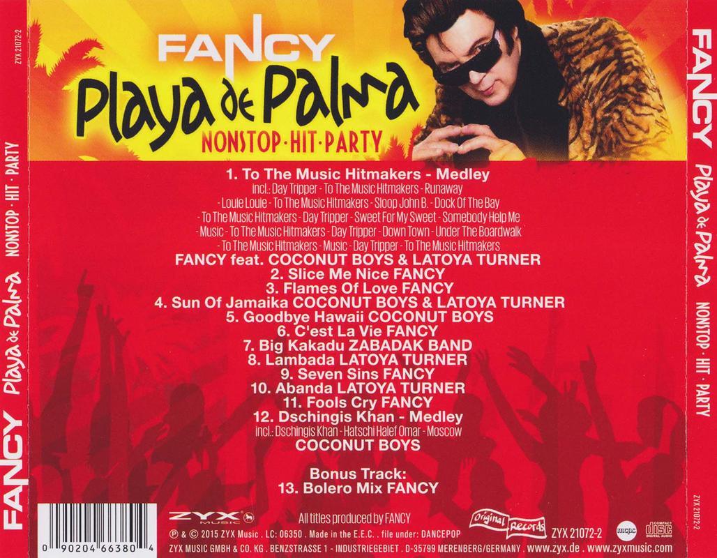 FANCY-FLAC Fancy_-_Playa_De_Palma_Nonstop-_Hit-_Party_back