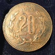 20 centavos México 1935  IMG_4117