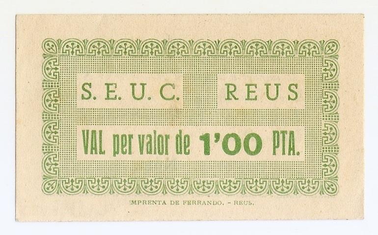 1 Peseta Reus 1937 (Serveis Electrics Unificats de Catalunya) Escanear0003