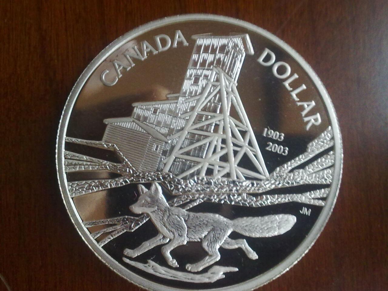 1 $ Dolar Canada 2003 Nn_010