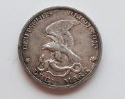 Imperio Alemán. Prusia. 3 mark, 1913. IMG_0052