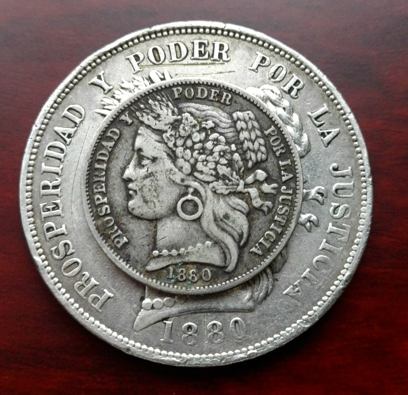 5 pesetas 1880, Perú (dedicado a Koldomi) IMG_20170708_162558
