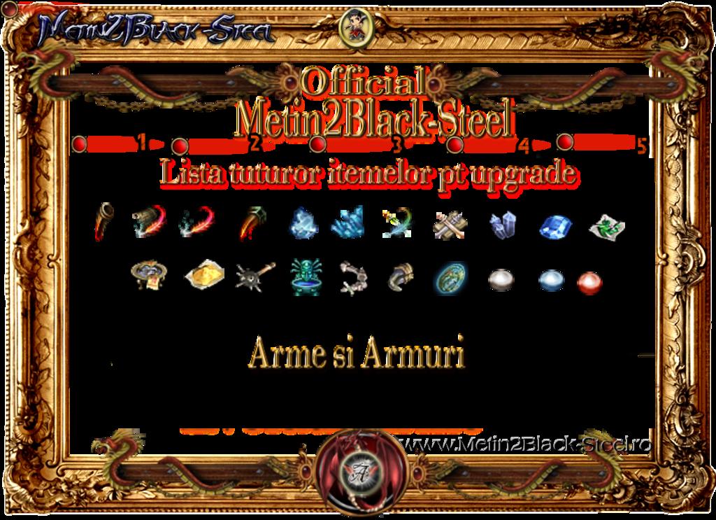 Metin2 BlackSteel Upgrade
