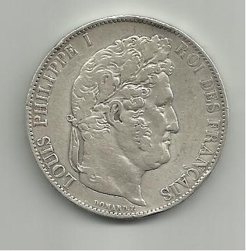 5 francos Louis Philippe I 1845 (Francia) 5_francos_Louis_Philippe_1845_Francia_anver