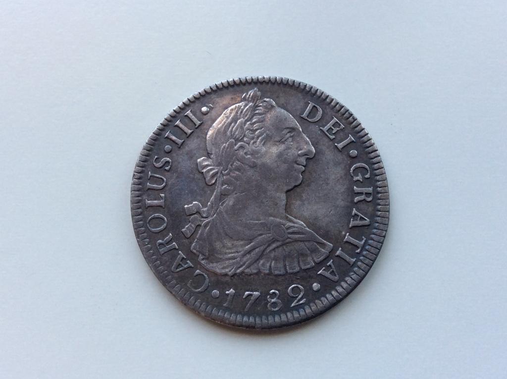 2 Reales de Carlos III  1782 , ceca de Mexico F F IMG_4182
