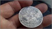 8 reales Carolus IIII,1795 Mejico-FM   20150407_175707