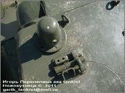 """Советский средний танк Т-34, завод № 183, III квартал 1942 года, музей """"Линия Сталина"""", Псковская область 34_183_056"""