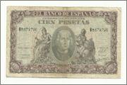 TENGO UNA PROPUESTA QUE HACER 100_pesetas_1940_Cristobal_Colon_Anver