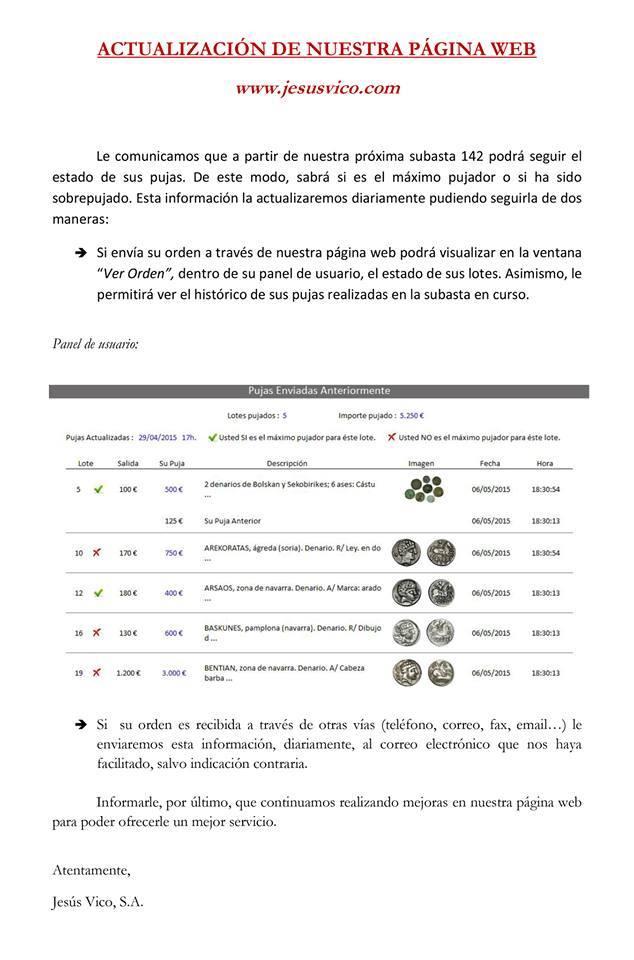 Nueva subasta José A. Herrero 7 Mayo 15 - Página 2 Vico
