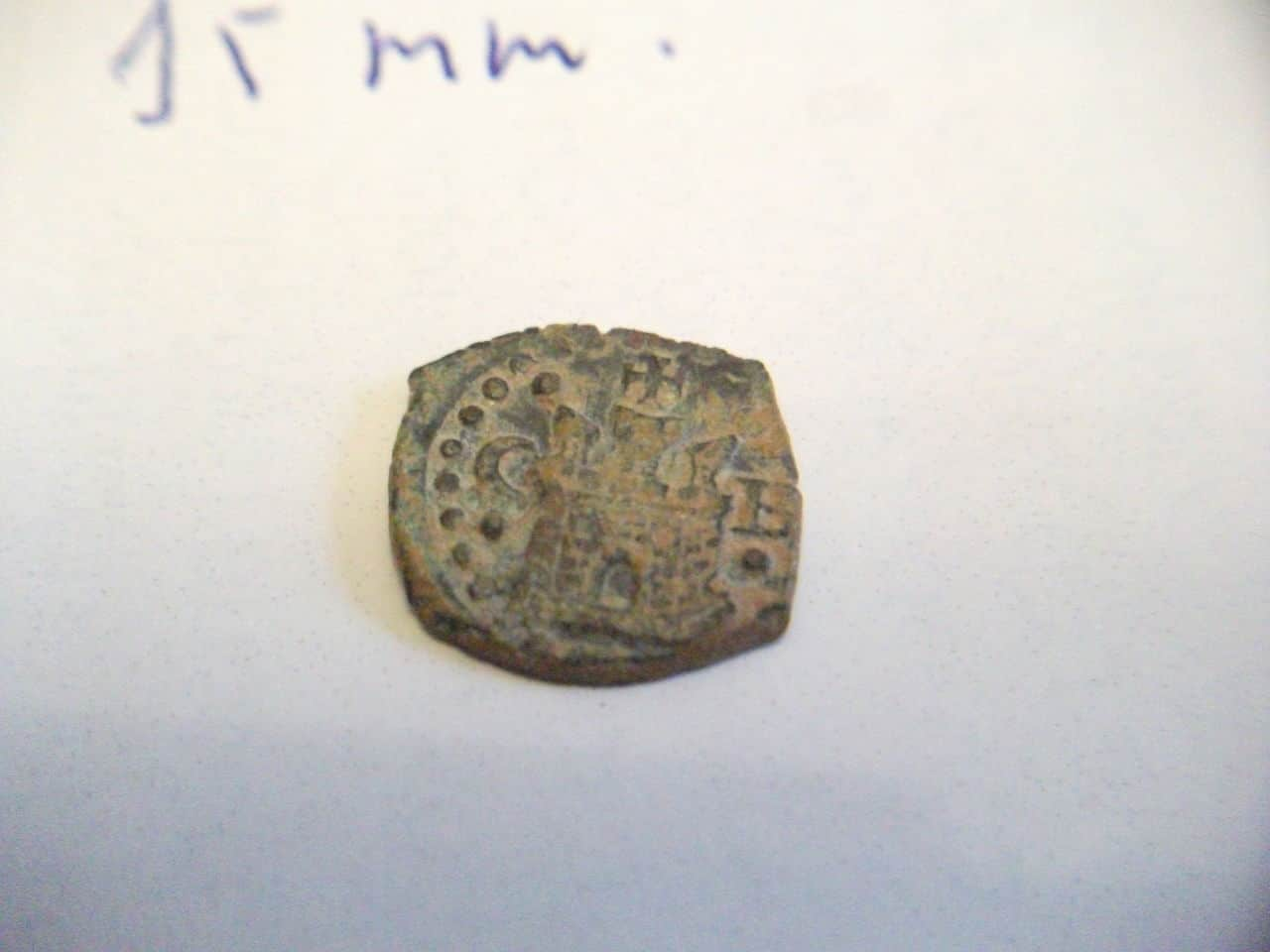 Blanca de Felipe II, de la ceca Burgos. DSCF2065