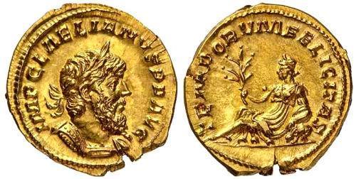 Algunas monedas hermosas Laelianus