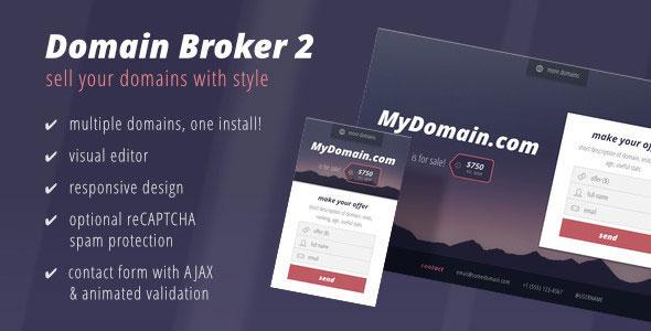 Domain Broker 2 – Landing Page to Sell Domains 3_BDAFh_U