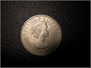 Half Crown Elizabeth II, 1967 P4210819
