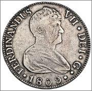 8 reales Fernando VII 1809 ceca Sevilla   57_33