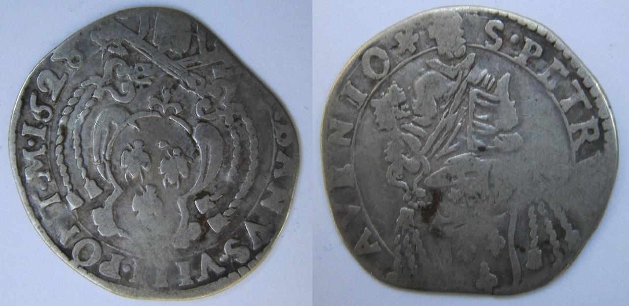 1 Barberino. Papa Urbano VIII. 1628. Avignon Papa_Urbano_VIII_Avignon_1628